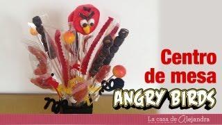 Centro De Mesa De Angry Birds DIY Angry Birds Centerpice