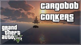 "GTA V - ""CARGOBOB CONKERS!'' w/ Behzinga, Miniminter, Vikkstar, Zerkaa & KSI"