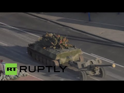 Lugansk: E. Ukraine militia deploys tanks, Grad rocket launcher as Kiev intensifies offensive