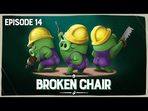 Piggy Tales - Pokazená židle