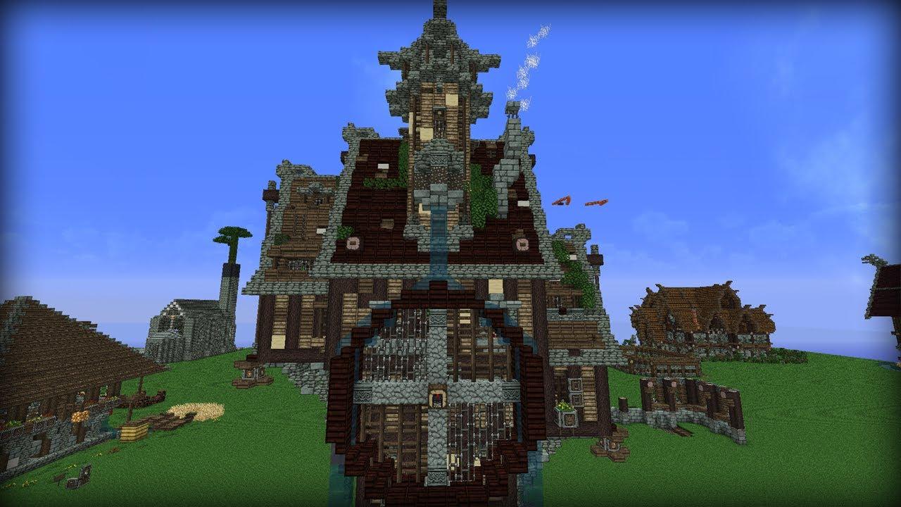 Mittelalterliches haus minecraft ideen 01 youtube