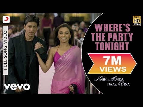 Shaan, Vasundhara Das, Loy Mendonsa, Shankar Mahadevan - Where's The Party Tonight