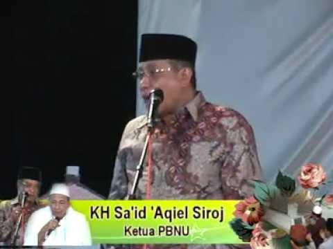 KH Said Aqiel Siroj di Khoul Syekh Rahmatillah Pasekaran Batang.mpg