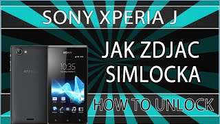 Jak Zdjąć Simlocka Z Telefonu Sony Xperia