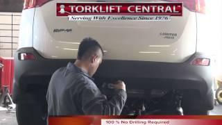 2013+ Toyota RAV 4 Hidden Ecohitch® Trailer Hitch