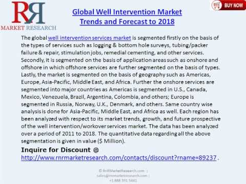 Global Well Intervention Market Trends and Forecast to 2018