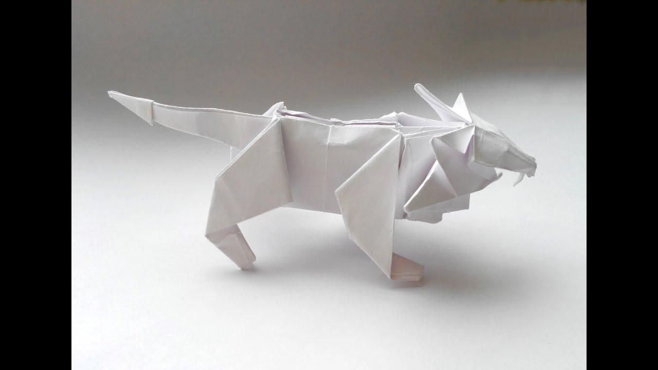Как сделать зверей оригами фото 897