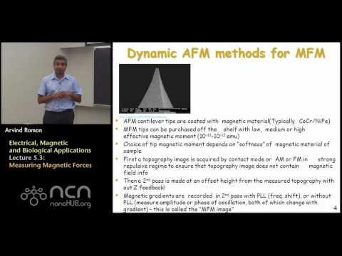 nanoHUB-U Fundamentals of AFM L5.3: Dynamic AFM for Magnetics - Measuring Magnetic Forces