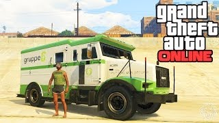 GTA Online: How To Rob Security Trucks! Easy Way To Make