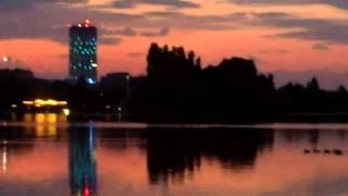 Am pedalat prin București și în amurg, și la răsărit de soare
