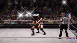 WWE Battleground 2014 Aj Lee Vs Paige Divas Championship