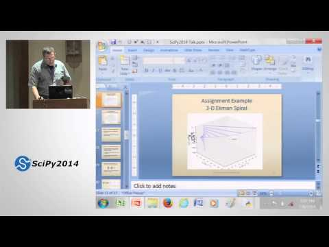 Sci. Comp. in the Undergrad Meteorology Curriculum at Millersville Univ | SciPy 2014 | Alex DeCaria