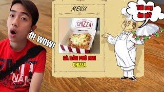 Tối nay ăn gì | Gà rán phô mai Chizza của KFC