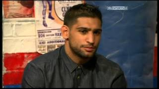 Khan Reviews Garcia Fight