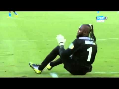 Ghana Vs Congo   unique goal celebration you don't see everyday