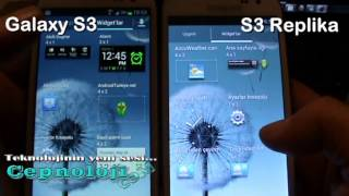 Samsung Galaxy S3 Vs Galaxy S3 Replica