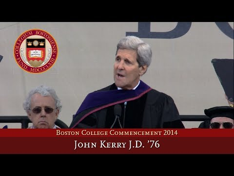 2014 Commencement - John Kerry, J.D. '76 Full Speech