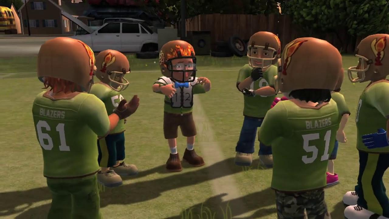 backyard sports rookie rush characters youtube