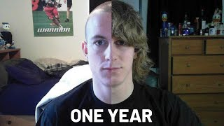 Picture A Day - Hair Growing 1 Year - Time-Lapse