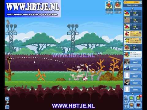 Angry Birds Friends Tournament Level 4 Week 75 (tournament 4) no power-ups