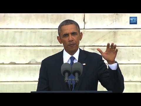 President Obama's Speech on the 50th Anniversary of the March On Washington (Complete HD)