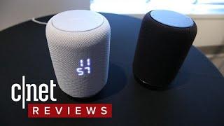 Sony's voice-enabled wireless speaker looks like Apple's HomePod, costs less