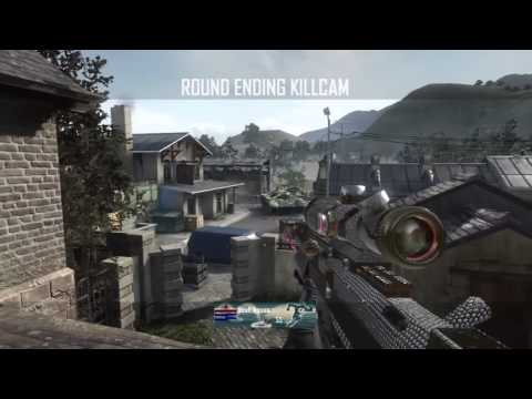 Black Ops 2 TRICKSHOT +  KILLCAM Sniper Montage/Gameplay #1