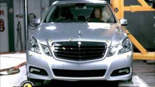 Mercedes E Serisi kaza testi - Euro NCAP 2009