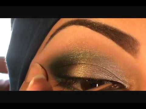 Arabic eye make up  new 2011 style  - best eye makeup- new fashion- party makeup,