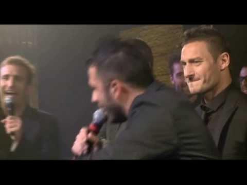 Pio&Amedeo coro a Daniele De Rossi (insieme a Francesco Totti)