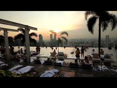 Marina Bay Sands Singapore / Singapur 2014 - Sentosa, Botanic Garden and more - Glidecam HD-2000