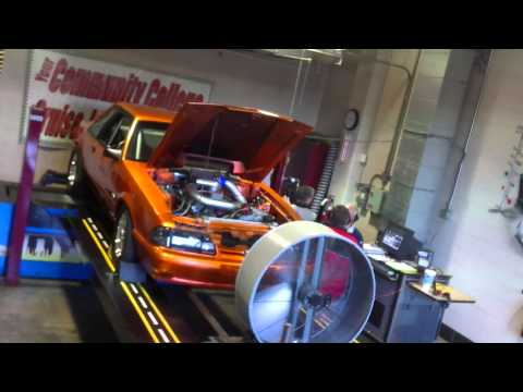 American Petrol Heads: 900hp Foxbody Mustang on the Dyno! Round One.