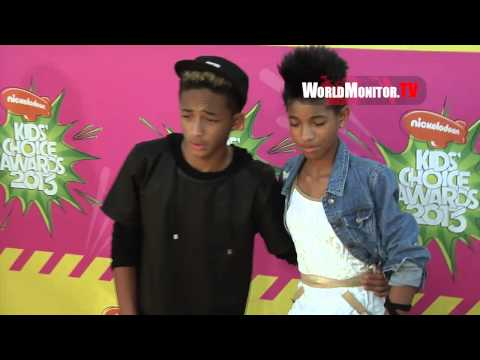 Jaden Smith, Willow Smith Nickelodeon Kids' Choice Awards 2013 Arrivals