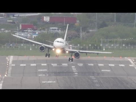 Awkward crosswind landings 2013