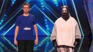 America's Got Talent 2014 Audition Dustin's Dojo Howard