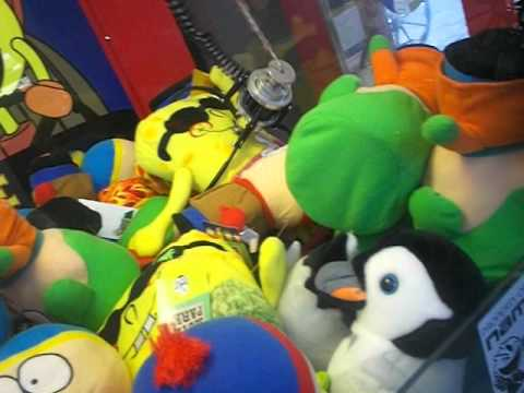 spongebob claw machine