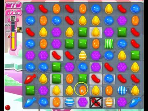 Candy Crush Saga level 251 strategy to pass without boosters