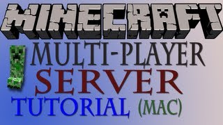 How To Make A Minecraft Multiplayer Server 1.7.10 (Mac) HD