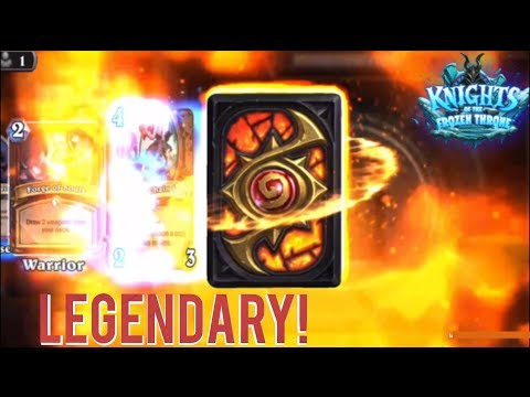 LET'S REVIEW: HEARTHSTONE (OPENING 30+ PACKS and LEGENDARY CARD!)