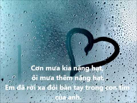 Cơn Mưa Ngang Qua M-TP - Lời bài hát Cơn Mưa Ngang Qua M-TP