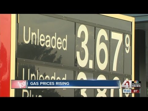 Gas prices are rising across the country