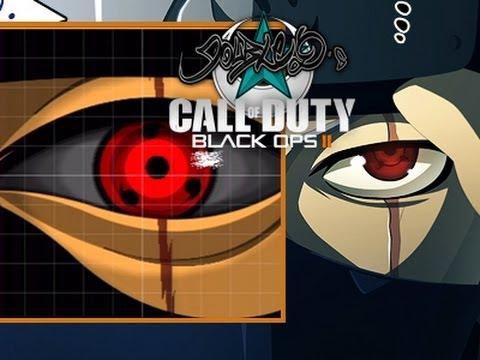 Tuto emblem Black Ops 2 Sharingan (Kakashi exemple)