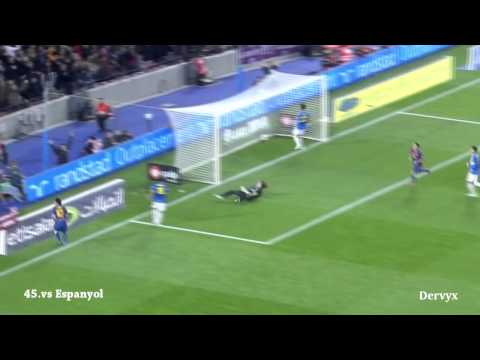 Lionel Messi - All 91 Goals in 2012 with Commentary