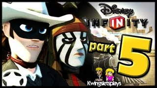 Disney Infinity Wii U Lone Ranger Part 5 Lumber & Cattle
