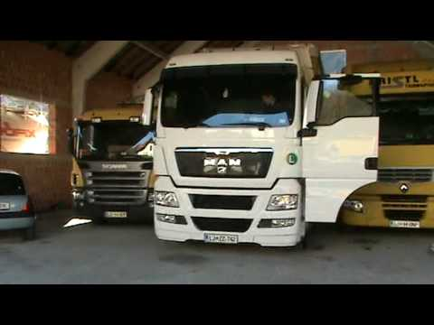 SCANIA, MAN AND RENAULT TRUCK presentation