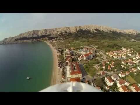 Flying in Baška 2014
