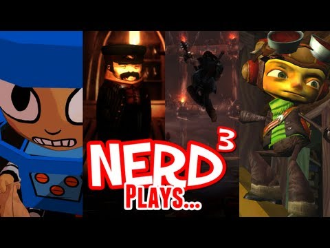 Nerd³ Plays... Humble Double Fine Bundle