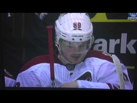 Mikkel Boedker Digging for Gold (phoenix coyotes)