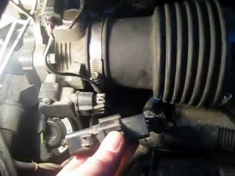 2003 Ford Windstar Clean Or Replace Mass Air Flow Sensor