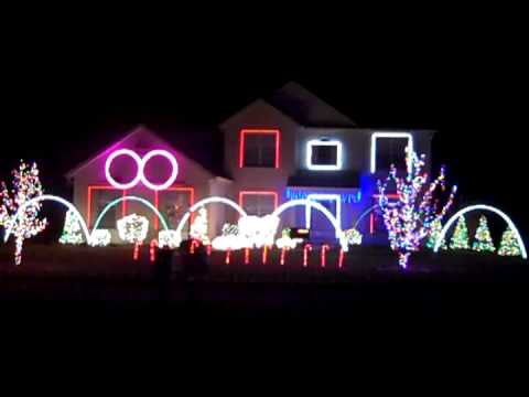 Music Box Dancer by DJ Schwede Christmas Light Show - YouTube